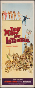 "Movie Posters:Adventure, That Man in Istanbul & Others Lot (Columbia, 1966). Inserts (3) (14"" X 36""). Adventure.. ... (Total: 3 Items)"