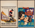 "Movie Posters:Adventure, The King's Thief & Others Lot (MGM, 1955). Window Cards (2)(14"" X 22"") & Trimmed Window Cards (2) (14"" X 17"". & 14"" X18.75... (Total: 4 Items)"