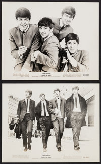 "The Beatles Come to Town (United Artists, 1964). Photos (2) (8"" X 10""). Rock and Roll. ... (Total: 2 Items)"