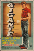 "Movie Posters:Drama, Giant (Warner Brothers, 1956). Argentinean Poster (29"" X 43"").Drama.. ..."