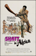 """Movie Posters:Blaxploitation, Shaft in Africa & Other Lot (MGM, 1973). One Sheets (2) (27"""" X 41""""). Blaxploitation.. ... (Total: 2 Items)"""