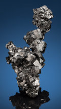 Minerals:Cabinet Specimens, MAGNETITE. Balmat Mine, Fowler Orebody, St. Lawrence Co., NewYork, USA. ... (Total: 2 Items)