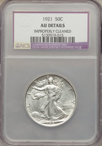 1921 50C -- Improperly Cleaned -- NCS. AU Details....(PCGS# 6583)