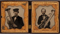 Photography:Ambrotypes, Early Photography: Ambrotypes of Saxhorn Players....