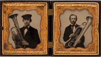 Early Photography: Ambrotypes of Saxhorn Players