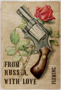 [James Bond]. Ian Fleming. From Russia with Love. London: Jonathan Cape, [1957]. First edition