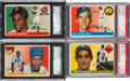 Baseball Cards:Sets, 1955 Topps Baseball Near Set (205/206). ...