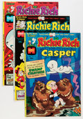 Bronze Age (1970-1979):Cartoon Character, Richie Rich and Casper #1-45 Group (Harvey, 1974-82) Condition:Average NM-.... (Total: 45 Comic Books)