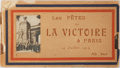 Miscellaneous:Postcards, [Souvenir Postcard Book]. Les Fetes de La Victoire a Paris. 14Juillet 1919. Printed wrappers. Contains postcards wi...