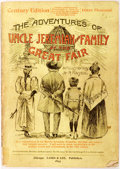 """Books:Americana & American History, """"Quondam"""" (Pseudonym).The Adventures of Uncle Jeremiah andFamily at the Great Fair. Chicago: Laird & Lee, 1893.Fir..."""