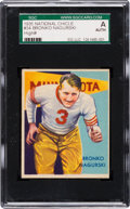 Football Cards:Singles (Pre-1950), 1935 National Chicle Bronko Nagurski #34 SGC Authentic. ...