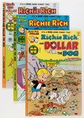 Bronze Age (1970-1979):Cartoon Character, Richie Rich and Dollar the Dog #1-24 Group (Harvey, 1977-82)Condition: Average NM-.... (Total: 24 Comic Books)