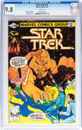 Modern Age (1980-Present):Science Fiction, Star Trek #14 (Marvel, 1981) CGC NM/MT 9.8 White pages....