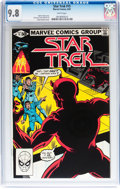 Modern Age (1980-Present):Science Fiction, Star Trek #15 (Marvel, 1981) CGC NM/MT 9.8 White pages....
