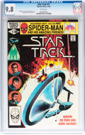 Modern Age (1980-Present):Science Fiction, Star Trek #17 (Marvel, 1981) CGC NM/MT 9.8 White pages....