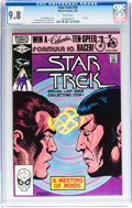Modern Age (1980-Present):Science Fiction, Star Trek #18 (Marvel, 1982) CGC NM/MT 9.8 White pages....