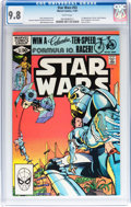 Modern Age (1980-Present):Science Fiction, Star Wars #53 (Marvel, 1981) CGC NM/MT 9.8 White pages....