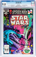 Modern Age (1980-Present):Science Fiction, Star Wars #54 (Marvel, 1981) CGC NM/MT 9.8 White pages....