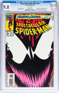 Spectacular Spider-Man #203 (Marvel, 1993) CGC NM/MT 9.8 White pages