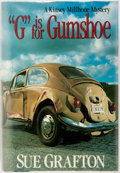 """Books:Mystery & Detective Fiction, Sue Grafton. SIGNED. """"G"""" is for Gumshoe. New York: HenryHolt, [1990]. First edition, first printing. Signed by th..."""