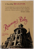 Books:Horror & Supernatural, Ira Levin. Rosemary's Baby. New York: Random House, [1967]. First edition, first printing. Publisher's purple boards...