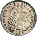 Early Half Dimes, 1794 H10C -- Cleaned -- ANACS. AU50 Details. V-3, LM-3, R.4....