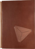 Minerals:Museum Specimens, AMERICAN MINERAL TREASURES. Art Smith's Leather-Bound - Sponsor Edition. ...