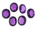Estate Jewelry:Unmounted Gemstones, Lot of Unmounted Amethysts. ... (Total: 6 Items)