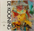 Books:Art & Architecture, Willem de Kooning. Text by Harold Rosenberg. New York: Harry N. Abrams, [1978]. Second printing. Oblong folio. Publisher...