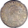 Early Dollars, 1795 $1 Flowing Hair, Two Leaves XF40 NGC. B-4, BB-14, R.3....