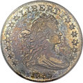 Early Dollars, 1799 $1 7x6 Stars AU50 NGC. CAC. B-14, BB-167, R.3....