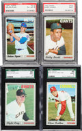 Baseball Cards:Sets, 1970 Topps Baseball Complete (720). ...