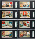 "Non-Sport Cards:Sets, 1888 N133 Duke ""State and Territorial Governors, Coats of Arms""Near Set (47/48). ..."