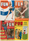 Magazines:Humor, Army and Navy Fun Parade File Copy Short Box Group (Fun Parade, 1950s) Condition: Average VF....