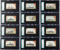 """Non-Sport Cards:Sets, 1889 N226 Kinney """"Naval Vessels of the World"""" SGC-Graded CompleteSet (25) - #1 on the SGC Set Registry. ..."""