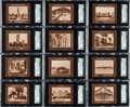 """Non-Sport Cards:Sets, 1920's Weber Baking Co. """"Capital Buildings of the World"""" Set (41Different). ..."""
