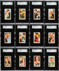 "Non-Sport Cards:Sets, 1935 Gallaher ""Film Partners"" High Grade SGC Complete Set (48). ..."