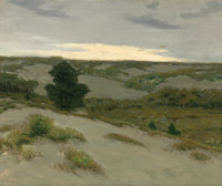 CHARLES WARREN EATON (American, 1857-1937) The Gray Dunes, Belgium, circa 1913 Oil on canvas 30 x