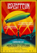 """Movie Posters:Rock and Roll, Led Zeppelin: Celebration Day (Omniverse Vision, 2012). Italian 2 -Foglio (38.5"""" X 55""""). Rock and Roll.. ..."""