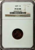 Proof Indian Cents: , 1879 1C PR65 Red and Brown NGC. NGC Census: (76/33). PCGS Population (84/41). Mintage: 3,200. Numismedia Wsl. Price for pro...