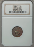 Proof Indian Cents: , 1907 1C PR66 Brown NGC. NGC Census: (7/3). PCGS Population (10/1). Mintage: 1,475. Numismedia Wsl. Price for problem free N...