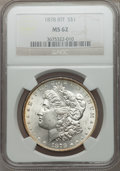 Morgan Dollars: , 1878 8TF $1 MS62 NGC. NGC Census: (1714/5229). PCGS Population(2199/7088). Mintage: 699,300. Numismedia Wsl. Price for pro...