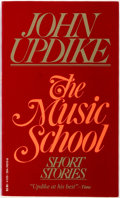 Books:Literature 1900-up, John Updike. INSCRIBED. The Music School. New York: Vintage Books, [1980]. First edition thus. Inscribed by the au...