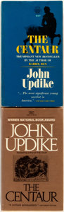Books:Literature 1900-up, John Updike. SIGNED. Pair of Copies of The Centaur. Variousdivisions of Fawcett, [1964, 1983]. One is signed by t... (Total: 2Items)