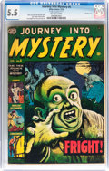 Golden Age (1938-1955):Horror, Journey Into Mystery #5 Double Cover (Marvel, 1953) CGC FN- 5.5Off-white pages....
