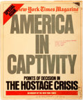 Books:Periodicals, [Iran Hostage Crisis]. The New York Times Magazine SpecialIssue: America In Captivity: Points of Discussion...