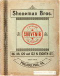 Books:Americana & American History, [Early Novelties]. Catalog for Shoneman Bros, ca. 1880s.Philadelphia. Filled with accessories and trinkets for sale. Toned...