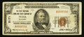 National Bank Notes:Oklahoma, Tulsa, OK - $50 1929 Ty. 1 The First NB & TC Ch. # 5171. ...