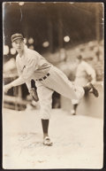 Baseball Collectibles:Photos, Lefty Grove Signed George Burke Photograph....