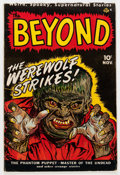 Golden Age (1938-1955):Horror, The Beyond #1 (Ace, 1950) Condition: VG+....